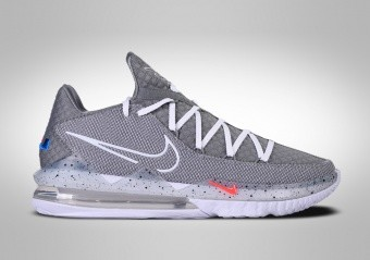 NIKE LEBRON 17 LOW PARTICLE GREY