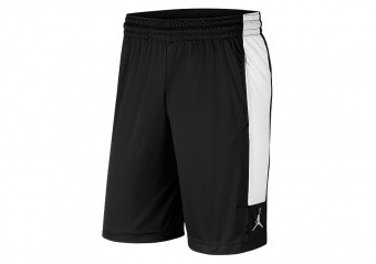 NIKE AIR JORDAN 23 ALPHA DRI-FIT KNIT SHORTS BLACK