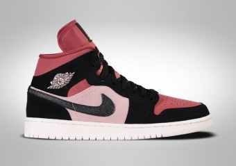 NIKE AIR JORDAN 1 RETRO MID WMNS CANYON RED