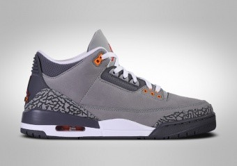 NIKE AIR JORDAN 3 RETRO COOL GREY