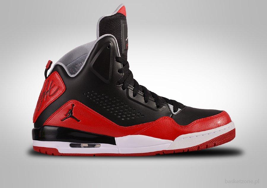 Jordan Sc-3 Chaussures Blanc Rouge pMBvc6pXxj