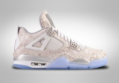 NIKE AIR JORDAN 4 RETRO BG LASER 30TH ANNIVERSARY