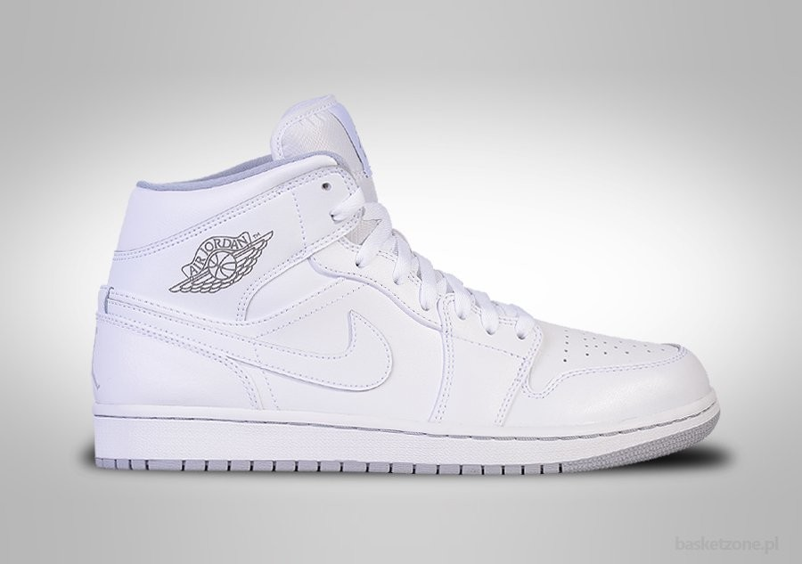 24e657e139c7 NIKE AIR JORDAN 1 RETRO MID WHITE WOLF GREY price €87.50 ...